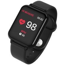 696 B57 Смарт-часы IP67 водонепроницаемые Смарт-часы монитор сердечного ритма несколько спортивных моделей фитнес-трекер для мужчин и женщин