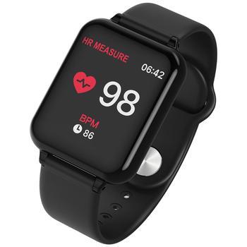 696 B57 smart watch IP67 impermeabile smartwatch monitor di frequenza cardiaca più sport modello inseguitore di fitness uomo donna indossabile