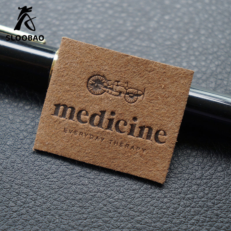 Custom Leather Labels For Jeans, Bags, Shoes In High Quality, Real Leather/genuine Label, Debossed/engraved Logo