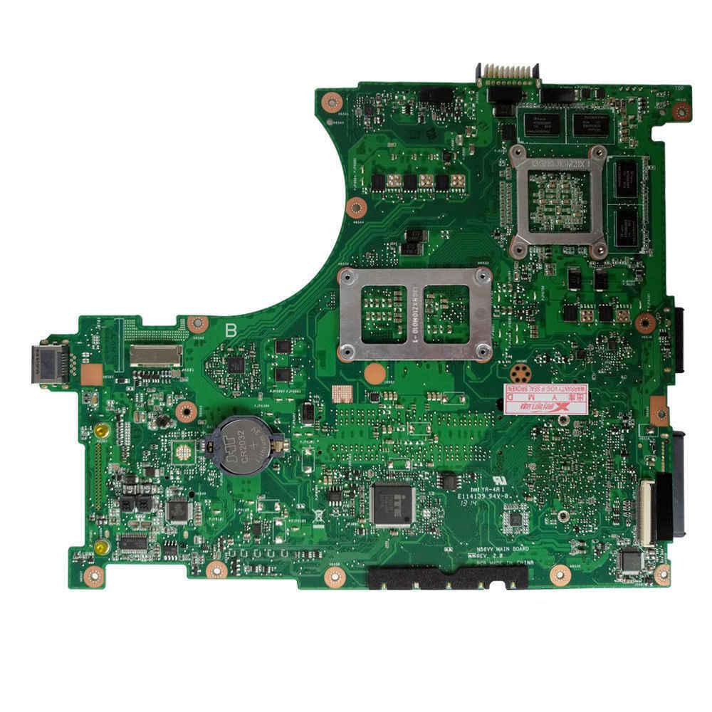 Для ASUS n56vb ноутбук для материнской платы N56VM Rev2.3 плата N14P-GE-OP-A2 Scoket полностью протестирована SOCKET 989 DDR3