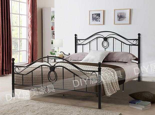 Corea Tiechuang 1.2 Continental hierro cama doble Simmons 1.5 m ...