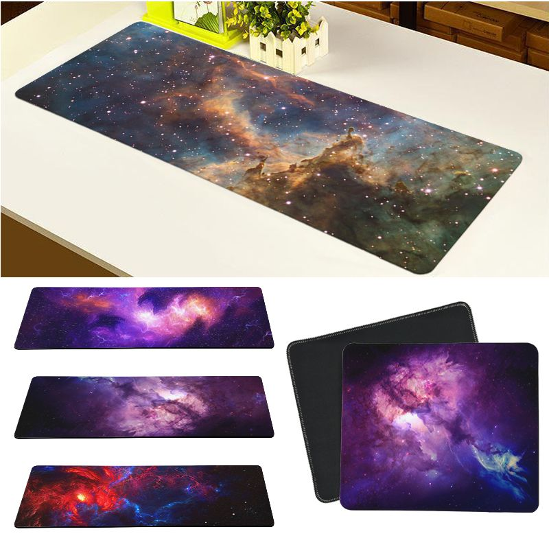 Maiya Top Quality Starry Sky Nebula Space Locking Edge Mouse Pad Game Free Shipping Large Mouse Pad Keyboards Mat