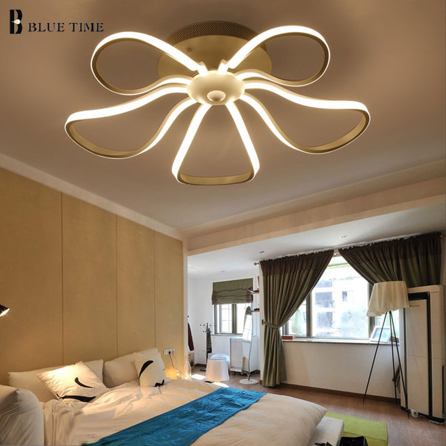 Nuovo Stile Dimming Moderno Led ChandeliersFor Lampadari Da Camera ...