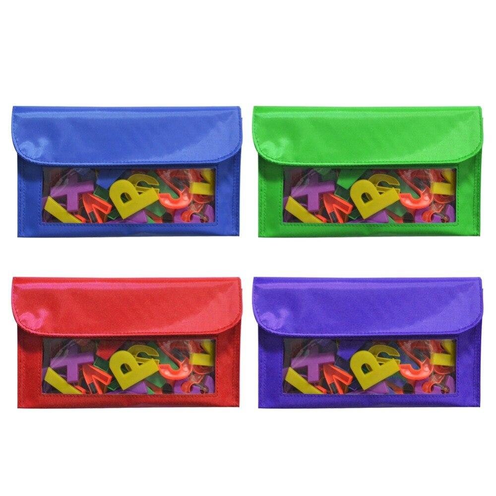 Magnetic Storage Pockets, Magnetic Pen Bag Tool Bag Blackboard Wall Storage Bag Whiteboard Pen/Wipe Storage Bag Holder Slot