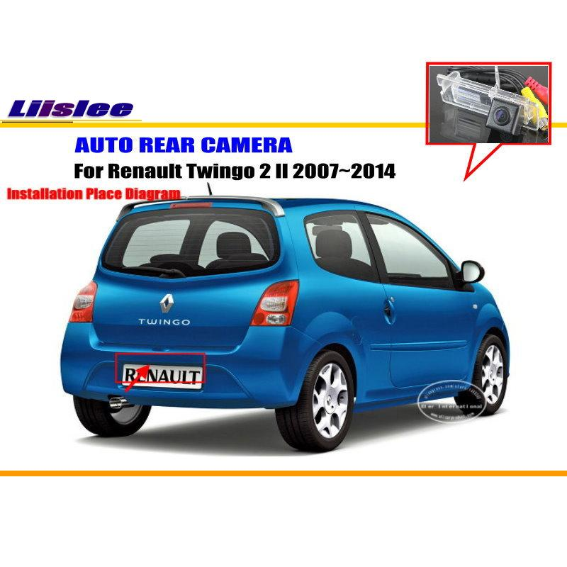 Renault Twingo: Liislee Car Camera For Renault Twingo 2 II 2007~2014