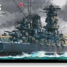 Tamiya 1/350 японский ВМС Японский линкор Ямато переопределенная версия 78025