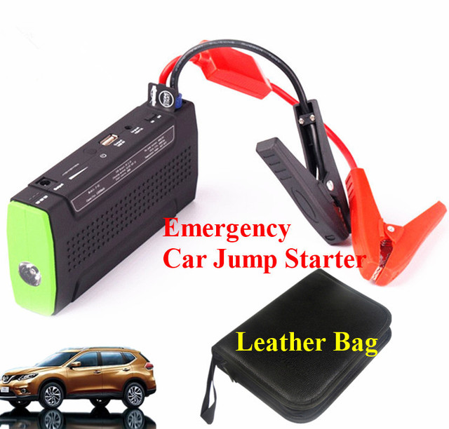 9900mAh Car Jump Starter Emergency Car Battery Starter Portable Phone Laptops Power Bank SOS Lights Mini 12V Auto EPS Free Ship