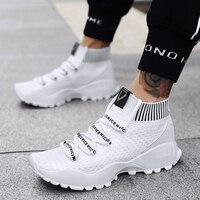 NORTHMARCH Men Shoes Luxury Brand High Top Sneakers Breathable Mens Shoes Casual Scarpe Uomo Estive Footwear Male Deportivas