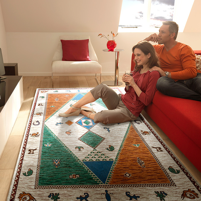 Bohemian Nation style Carpets for living room Geometric Large Area Anti-slip Safety Rectangle Carpet Kids Room Home Decor RugBohemian Nation style Carpets for living room Geometric Large Area Anti-slip Safety Rectangle Carpet Kids Room Home Decor Rug