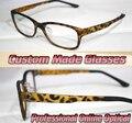 Vogue quadro leopard compras partido custom made lentes ópticas óptico óculos de leitura + 1 + 1.5 + 2 + 2.5 + 3 + 3.5 + 4 + 4.5 + 5 + 5.5 + 6