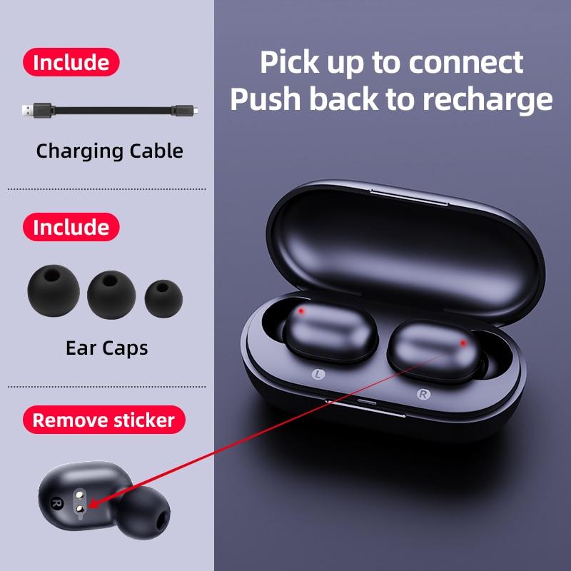 Haylou GT1 отпечатков пальцев Touch Bluetooth наушники, HD стерео Беспроводной наушники, Шум отмена игровая гарнитура 5