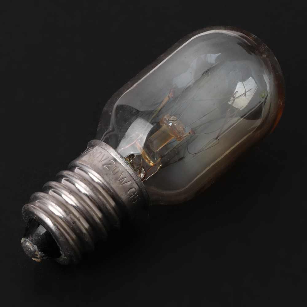 MEXI 5 шт. свч печь часть лампочки 230 В 20 Вт Высокое качество стеклянная лампа винт крепление для Midea для Galanz для Haier