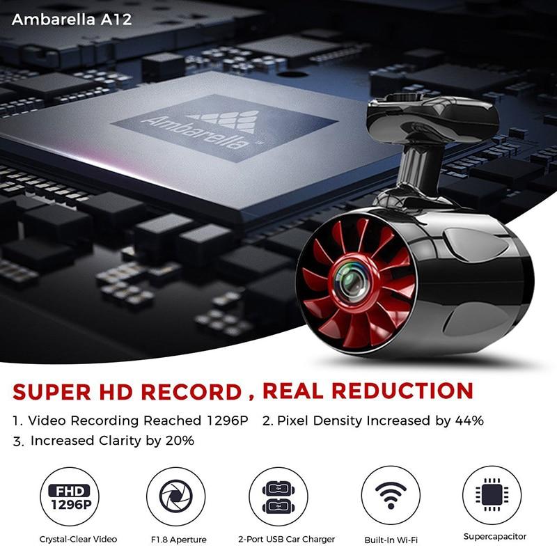 Auto Kamera Dashcam Full HD 1080 P Video Registrator Recorder g sensor Nachtsicht Dash Cam dash cam Neue Original 1 S Mini - 2