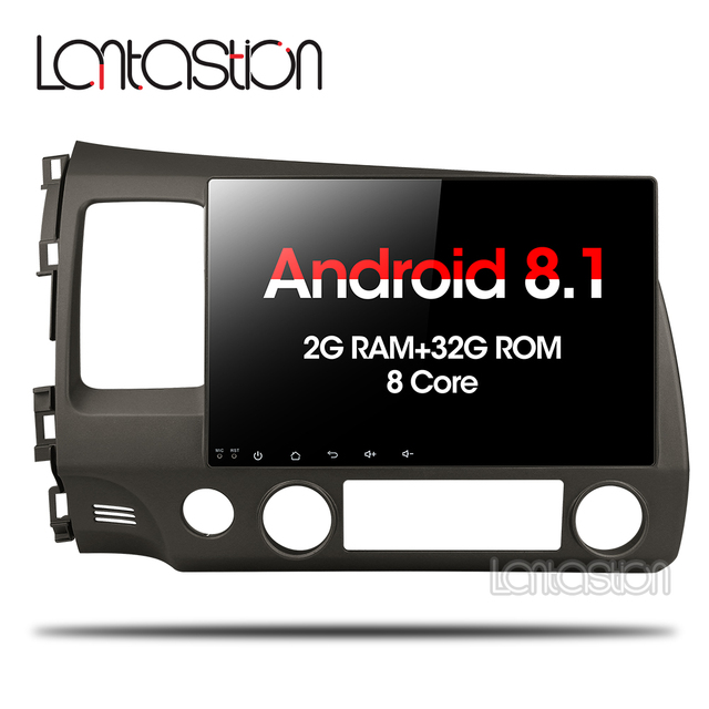 Asottu 2G android 8,1 coche dvd gps player para honda civic 2006-2011 coche radio video player gps navegación estéreo para coche 2 din dvd