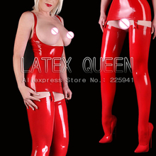 EXOTIC latex camisoles costume