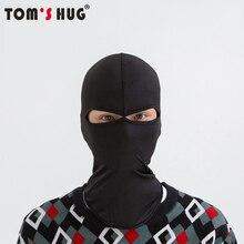 Ветрозащитная маска для езды на мотоцикле и велосипеде Toms Hug с 2 отверстиями, маска на все лицо, лыжная маска для защиты шеи, уличная Балаклава, маска для лица «Орлиный глаз»