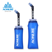 AONIJIE Sports Soft Flask Folding Collapsible Water Bottle TPU Free For Running Jogging Hydration Pack 350ml 600ml