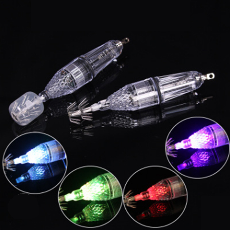 LED Underwater Fishing Light Squid Lamp Lures Fish Finder Lamp Octopus Lamp Cuttlefish Lamp (5 Colors)