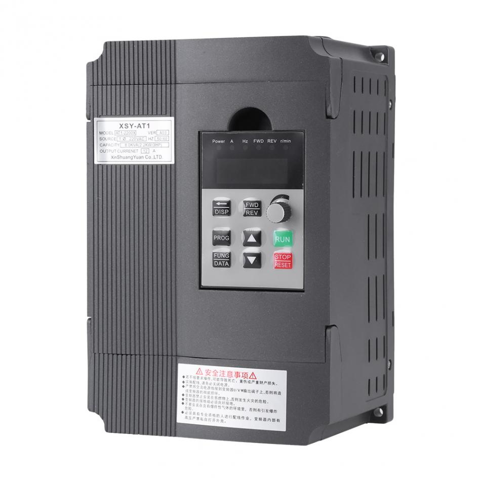 VBESTLIFE Variable Frequency Drive VFD Speed Controller for 3-phase 2.2kW  Motor V/