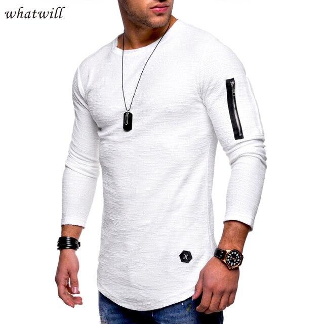 ca4107c620df6 Nueva moda para hombre suéter streetwear suéteres casual camisas largas hip  hop jersey hombre jerseys ropa