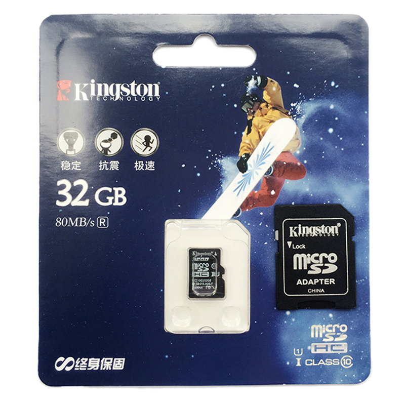 Kingston micro sd card Class 10 32gb 64gb memory card 16gb microsd tarjeta micro sd flash 128gb tf SDHC card brand Presented samsung micro sdhc tf card 64gb class 10 w tf to sd card adapter orange 64gb