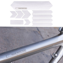 Bicycle Frame Scratch Resistant Protection Removable Stickers For Mountain Road Bike Guard Cover