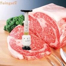 Saingace Profesión Carne Ablandador de Carne de Aguja de Acero Inoxidable de Cocina Herramientas Regalos de Alta Calidad para Hacer Deliciosa Carne