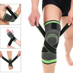 3D компрессионный рукав запястья/локоть/колено/лодыжки Поддержка Брейс ремень протектор колодки повязки Бег Баскетбол