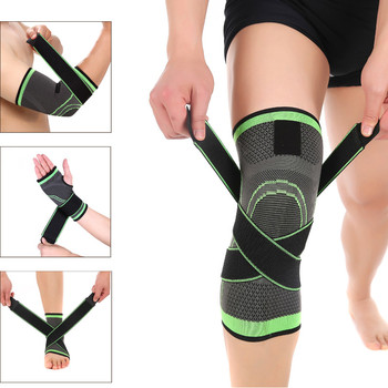 3D Compression Sleeve Wrist/Elbow/Knee/Ankle Support Brace Strap Protector Pads Bandage Running Basketball