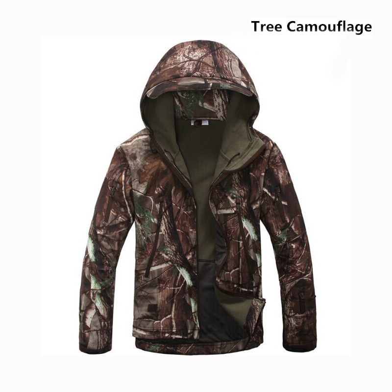 Outdoor Sport Softshell Jackets Men Hiking Hunting Clothes TAD Camouflage Military Tactical Sets Suits Camping In From Sports