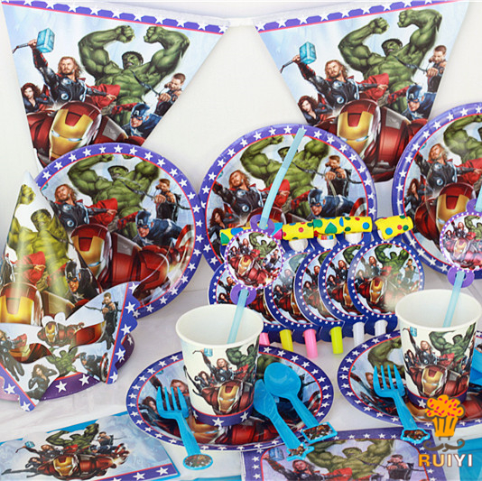 Aliexpresscom Buy 78pcs Kids Birthday Party Decoration Set The