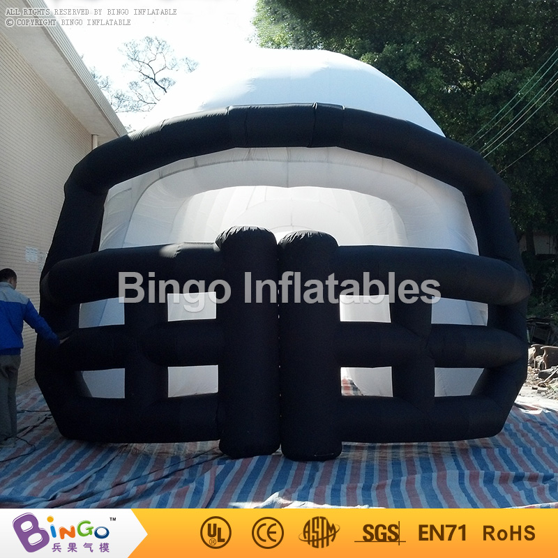 Free Shipping Customized NFL Inflatable Football Helmet Sports Tunnel tent toy tents