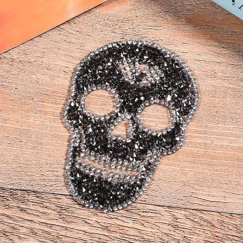 Brief Patch Ijzer Op Badges Geborduurd Applique Schedel Hotfix Badge Kleding Garment Apparel Accessoires
