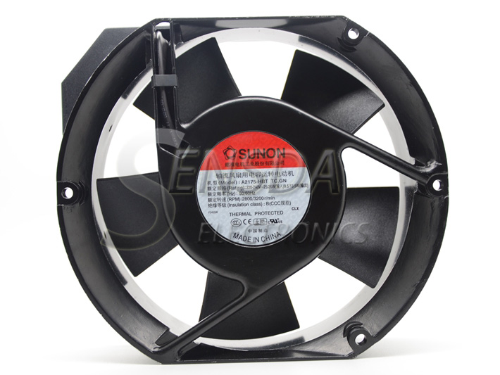 SUNON fan A2175-HBT TC.GN 17CM 17015051MM 1751 220V capacitor axial industiral cooling fan