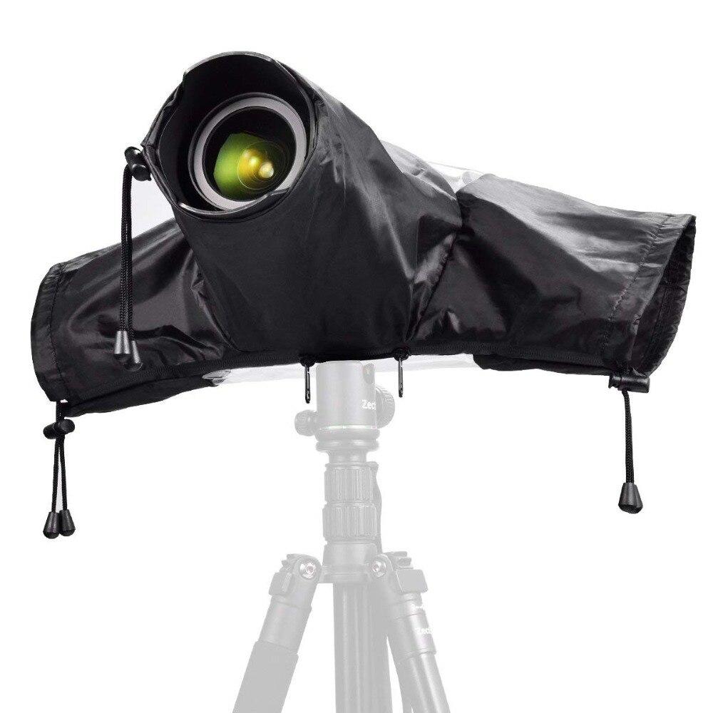Waterproof Camera Raincoat Nylon Transparent Tpu Camera Rain Cover Dustproof Protector For Dslr Camera For Canon/nikon/sony Moderate Cost Camera & Photo Accessories Flash Diffuser