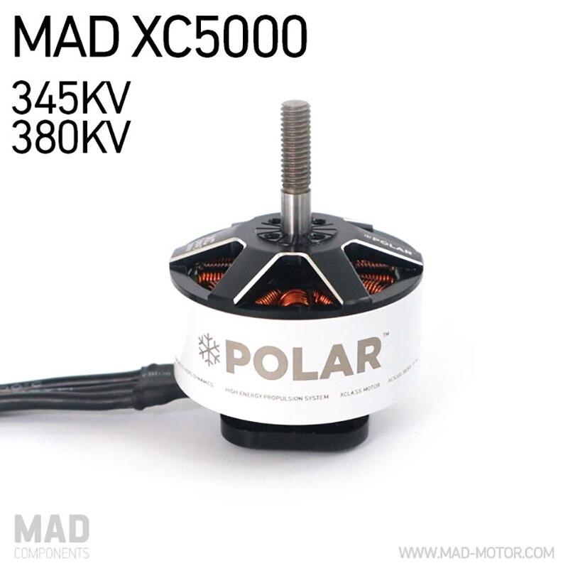 MAD Polar XC5000 X classe Drone moteurs 8-14S pour bricolage plates-formes quadrirotor Hexacopter Fit MAS13X12X3 hélice à lame sans balai