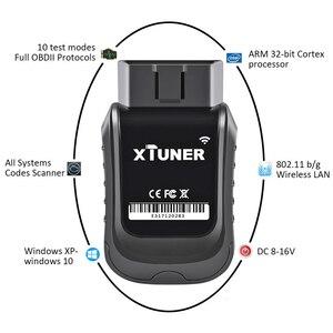 Image 4 - XTUNER herramienta de diagnóstico de coche E3 Wifi OBD2, motor de ABS SRS AC, lectura de código de error, escáner automotriz actualizado gratis, Vpecker Easydiag