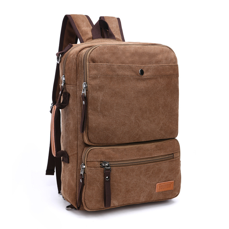M127 Multifunction New High Capacity Backpack Retro Style Male&Female Canvas Backpack for Teenagers Travel Bag Laptop Backpacks high capacity travel backpack bag for teenagers women waterproof backpack folding chair men bag multifunction rusksack male bag