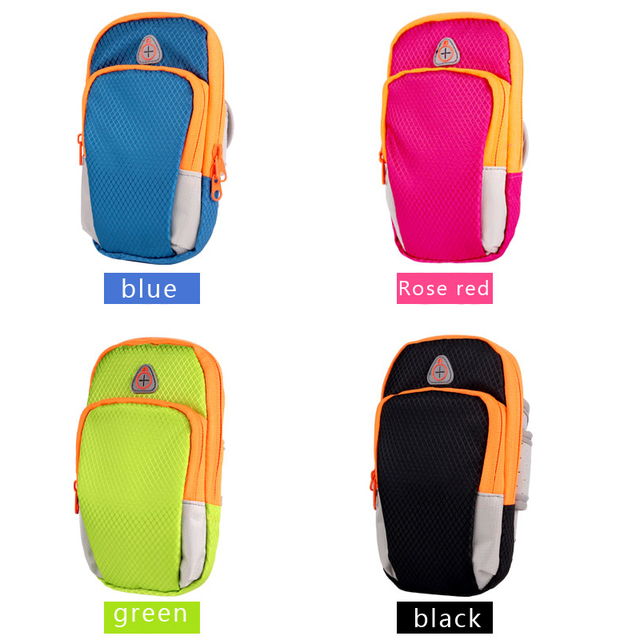 Nylon Running Sport Bag Fitness Gym Jogging Riding Cycling Accessories 5.5inch Cellphone Bag Outdoor Sports Arms Package Newest 3