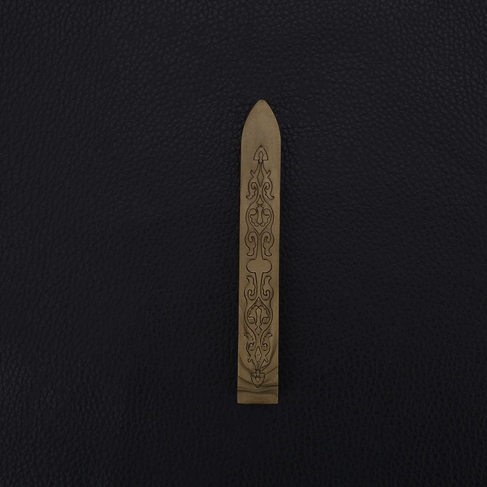 Ретро уплотнительная Восковая Палочка для штампы буквы уплотнение плавления свечи конверт пригласите - Цвет: green gold