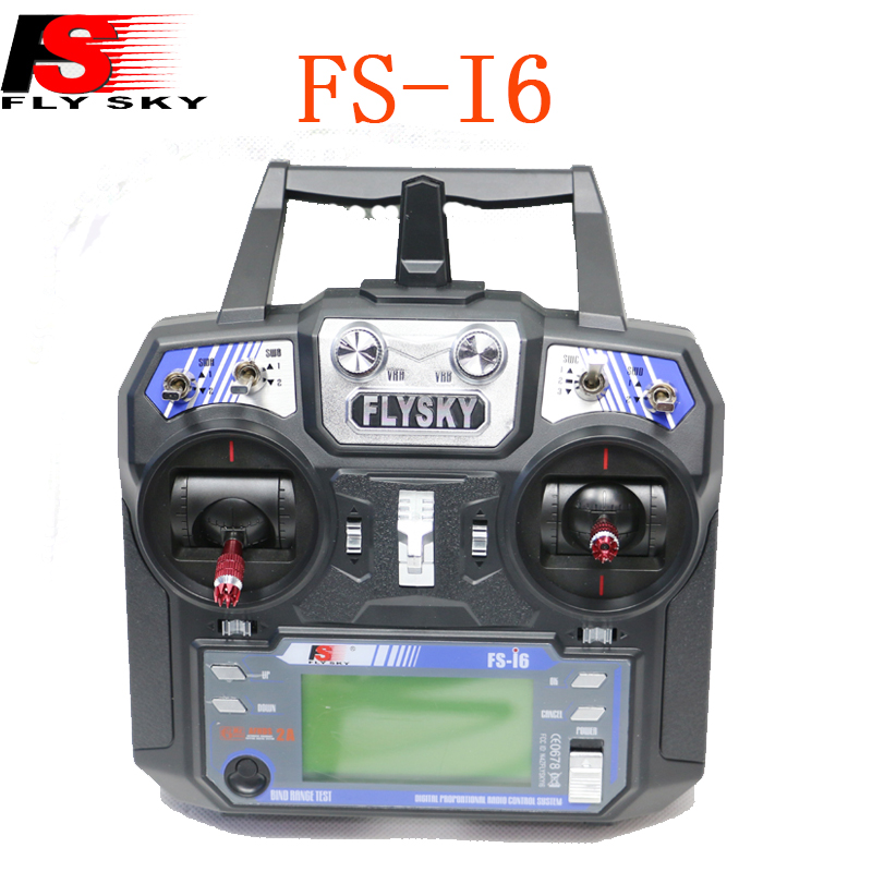 Flysky FS i6 FS I6 2 4G 6CH Transmitter Left Throttle With FS iA6 FS iA6B