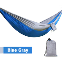 2016 Hot Selling Outdoor Camping Traveling 2 People Leisure Parachute Hammock Portable Nylon Parachute Hammock 4