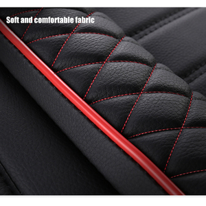 Image 3 - KADULEE Leather car seat cover for mitsubishi pajero 4 2 sport outlander xl asx accessories lancer covers for vehicle seats auto