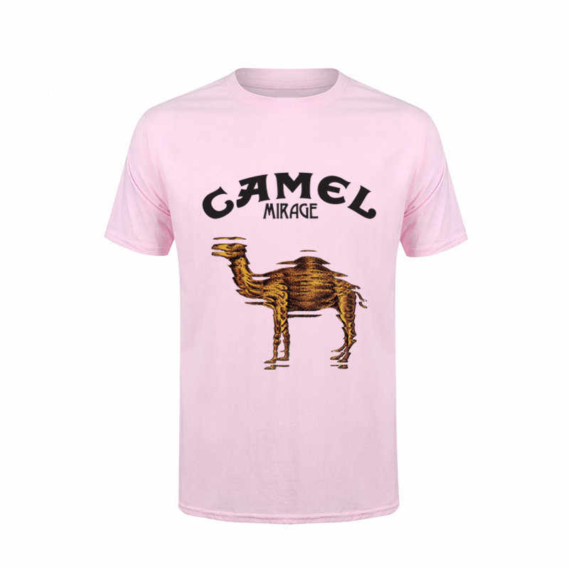 5c06c62a ... 2017 Men Camel T Shirts Animal Slim Fit Printing Short Sleeve Summer  Adult Tops T- ...