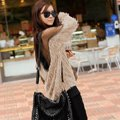 Fashion Autumn Sweaters 2017 Hot Sale Women Mesh Patchwork Tops Long Sleeve Back See Through Pullover Sweater Blusas Plus Size