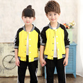 Children Sports Suits For Boys Girls Outfits Cotton Clothing Sets Boys Tracksuits Teenage Unisex Sportswear 2-16Y