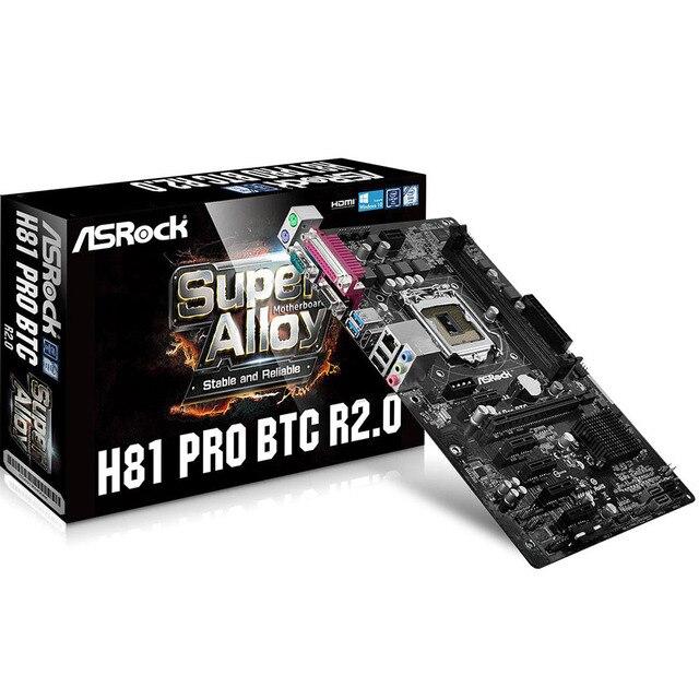 100 Brand New for ASRock Super Alloy H81 Pro BTC R20 ATX