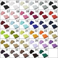 الجملة 10 قطع 20 قطع 8 سنتيمتر رجال التعادل 35 الألوان الرقبة التعادل مجموعة اكسسوارات بلون الرجال الجيب ساحة gravata للرجال tzljc