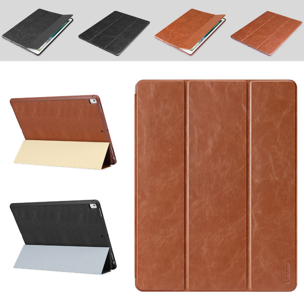 For iPad Pro 12.9 Case Leather With Pencil Holder, Auto Sleep/Wake up Slim Smart Cover For Apple iPad pro 12.9