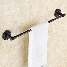Oil Rubbed Bronze Wall Mounted Bathroom Bath Towel Rack Bar Hotel Home Clothes Towel Holder Storage Rail Shelf KD656 стоимость